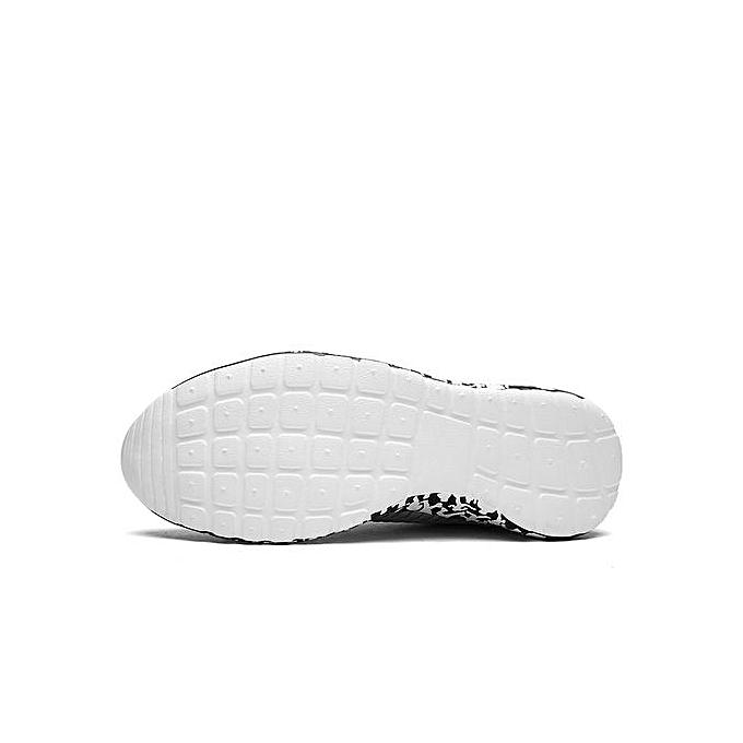 HT   Breathable Sport Shoes Outdoor Walking Jogging Shoes Shoes Jogging -Black à prix pas cher  | Jumia Maroc 4d6d61