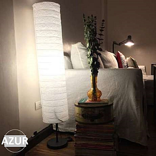 Lampe à tige relaxante pour le salon et chambre à coucher
