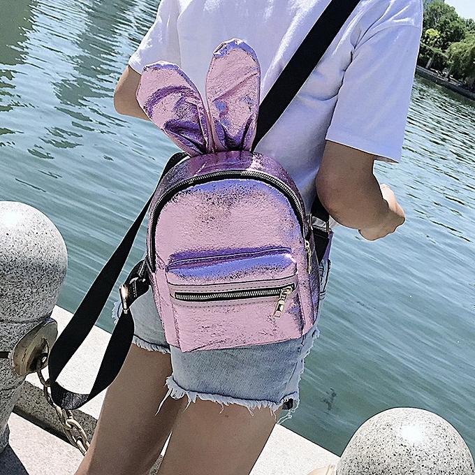 Generic Excellent  Girls cuir sac à dos femmes Leisure School sac voyage Pack sac à doss à prix pas cher