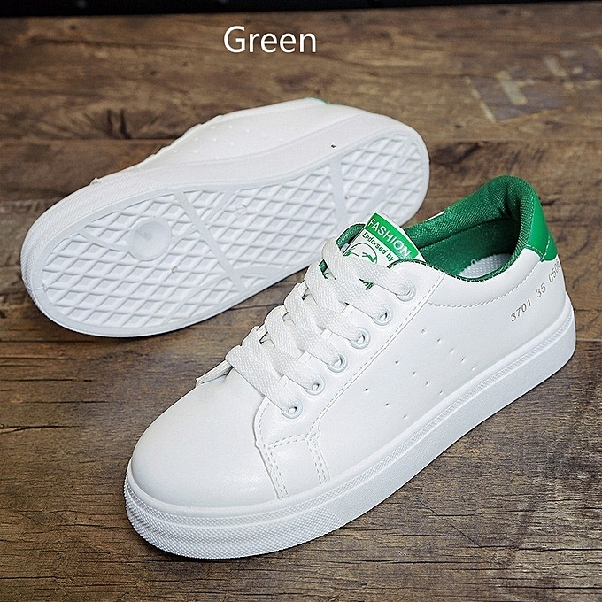 Autre Stylish Korean Solid Color Color Solid Lacing White Shoes à prix pas cher  | Jumia Maroc 8cf61a