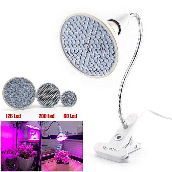 UNIVERSAL 60 LED Plant Grow Light Bulb 360 Desk Clip Flexible Growth Lamp for verthouse Flower à prix pas cher