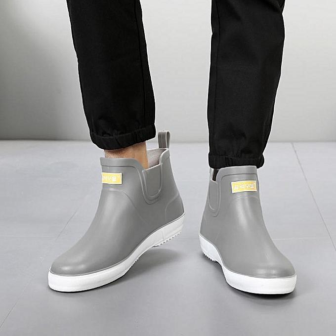 Fashion Summer  s Low Low Low Top Shoes Rain boots Waterproof Flats Slip On Rubber Bootie new-EU à prix pas cher  | Jumia Maroc 788c91