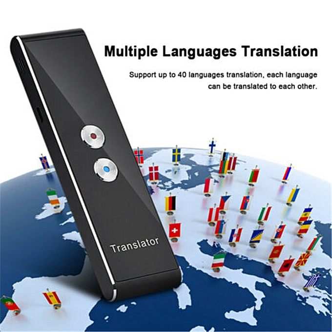 Other T8 Portable Mini Multi-Language Smart Translator 40 Languages APP Translator   Two-Way Real Time Instant Voice WOEDA à prix pas cher