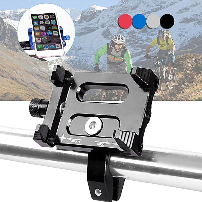 UNIVERSAL Aluminum Motorcycle Bike Bicycle MTB Handlebar Holder Mount For Mobile Phone à prix pas cher