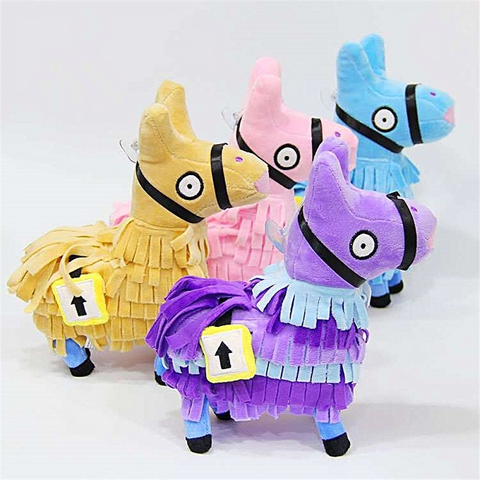 Autre 4 Couleur Troll Stash Llama Plush Toy Game Alpaca  Horse Stash Fluffy Soft Stuffed  Doll Toys Kids Birthday Gift 20 26CM  (violet) à prix pas cher