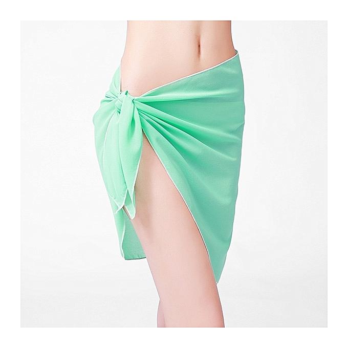 Generic HL Bikini Sarong Wrap plage Svoituref (lumière,vert) à prix pas cher