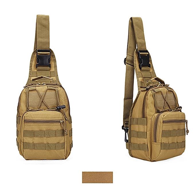 Fashion Tcetoctre Men's Military Tactical Backpack Shoulder Camping Hiking Camouflage Bag K-jaune à prix pas cher