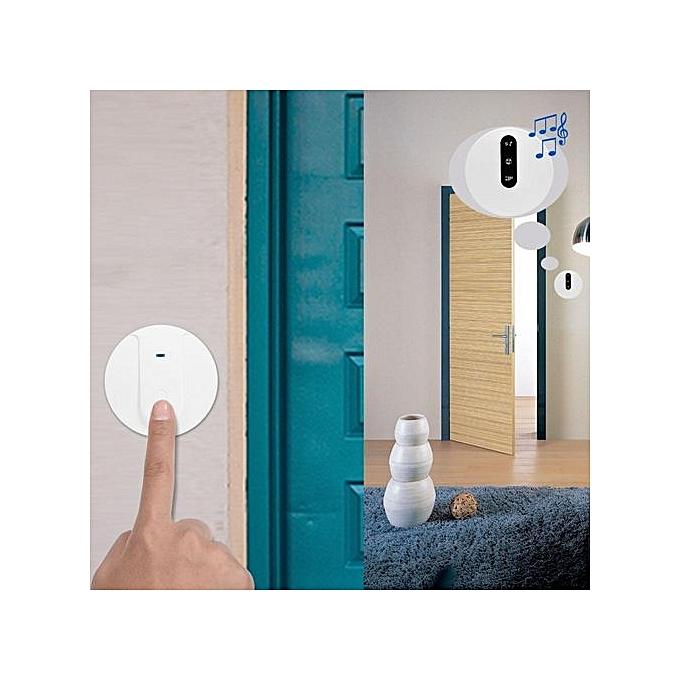 Other Self-powerouge Wireless Doorbell Kit Home Security Waterproof Doorbells Volume Adjustable à prix pas cher