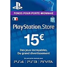 aa982e2ba6260 Carte PSN 15 EURO - Compte français