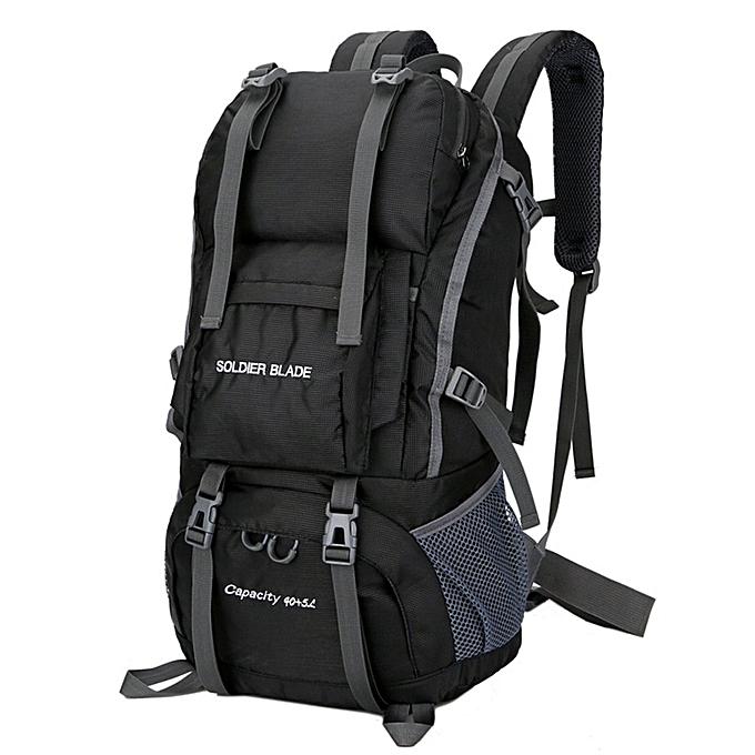 Generic grand Taille Hommes femmes de plein air sac à dos Camping sac imperméable Hiking sac à doss à prix pas cher