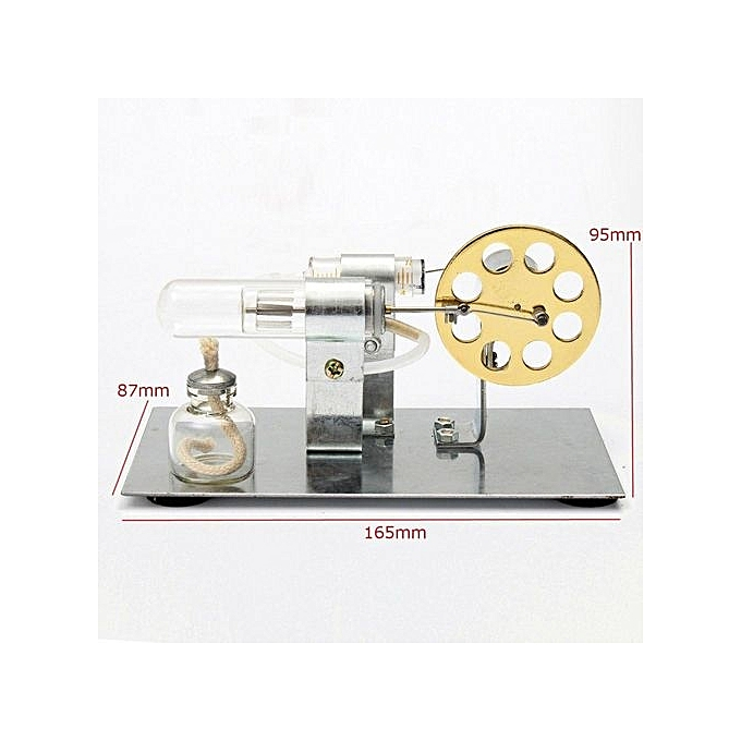 UNIVERSAL New Stirling Engine Motor Model Mini Hot Air Steam Power Toy Physics Experiment à prix pas cher