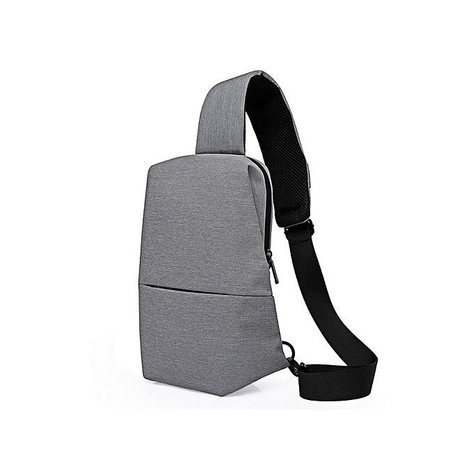 OEM Refined Refined Single Shoulder Bag Men Chest Pack Casual Small Shoulder Bag à prix pas cher