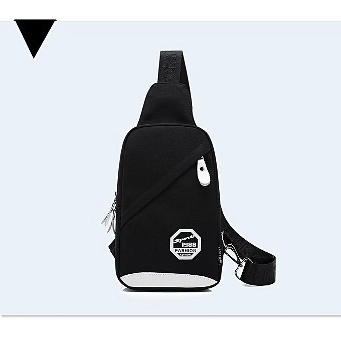 OEM nouveau style Multi-functional nylon Chest sac imperméable Sling sac à prix pas cher