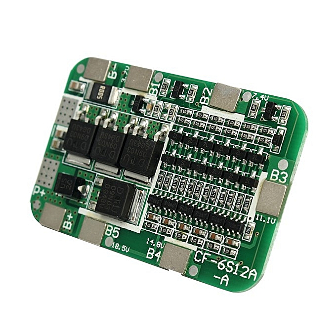 UNIVERSAL 10pcs PCB BMS 6S 15A 24V Battery Prougeection Board For 18650 Li-ion Lithium Battery Cell à prix pas cher