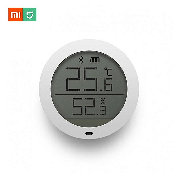 Other Xiaomi Mijia bleutooth Temperature Smart Humidity Sensor Digital Thermometer Moisture Meter Mi Home APP with Battery (blanc) MQSHOP à prix pas cher