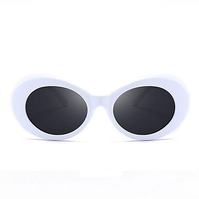 ad2ea373f0a17f Lunette de soleil Vintage Nirvana Kurt Cobain Round Sunglasses pour femme  et homme