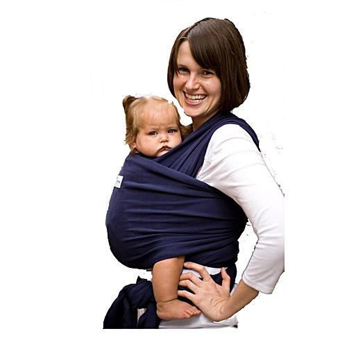 f026a4bb0a5 Générique Echarpe de portage pour bébés porte bébé Bleu marine ...