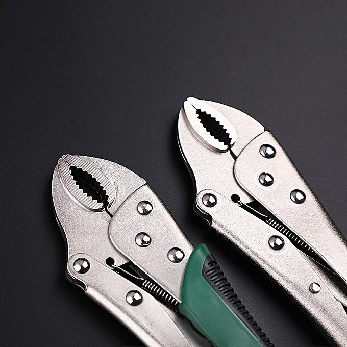 Autre Pliers Locking Pliers Adjustable Plier Set for Welder Long Nose Plier Welding Tools( Dipped plastic plier) à prix pas cher