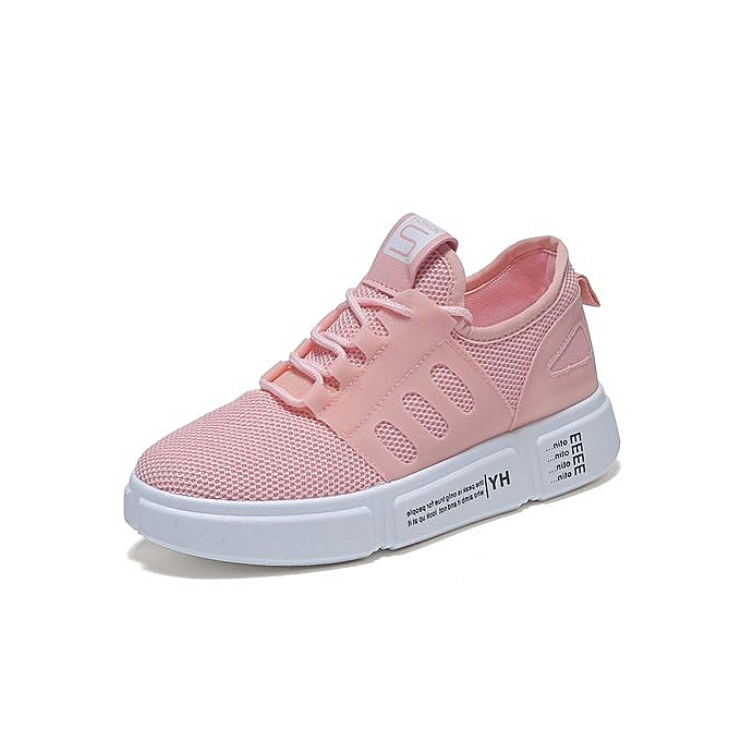 chaussures Knitting Breathable baskets femmes Fashion à Flat