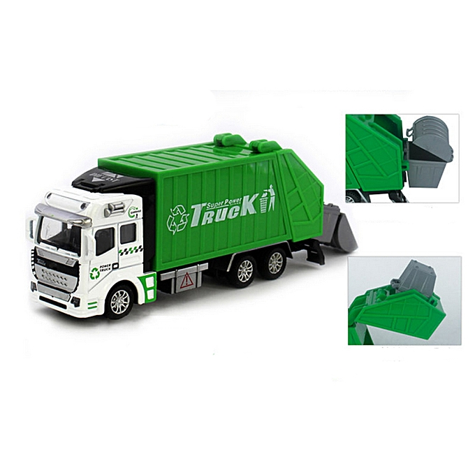 Generic 1 48 Back In The Toy Car Garbage Truck Toy Car A Birthday Present à prix pas cher