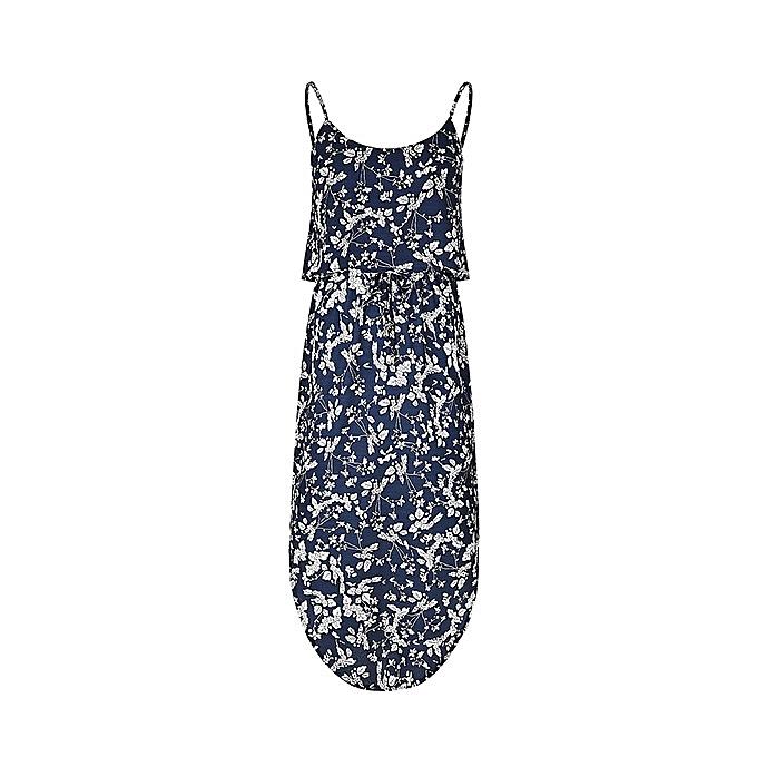 OEM nouveau arrivel femmes& 039;s nouveau arrivel printed mode Comfortable lace-up waist Robe-4 à prix pas cher