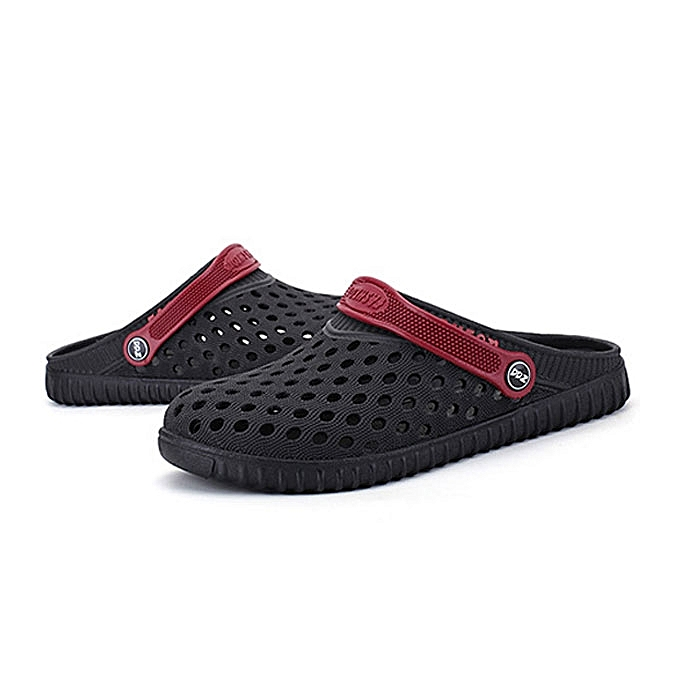 Fashion Men Hollow Out Beach Casual Slipper Sandals In Mesh à prix pas cher    Jumia Maroc