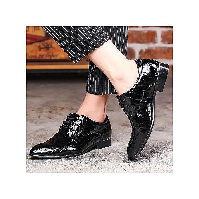 HT  's  s Plus Size Point Toe Toe Point Patent Leather Shoes à prix pas cher  | Jumia Maroc 31ef6c