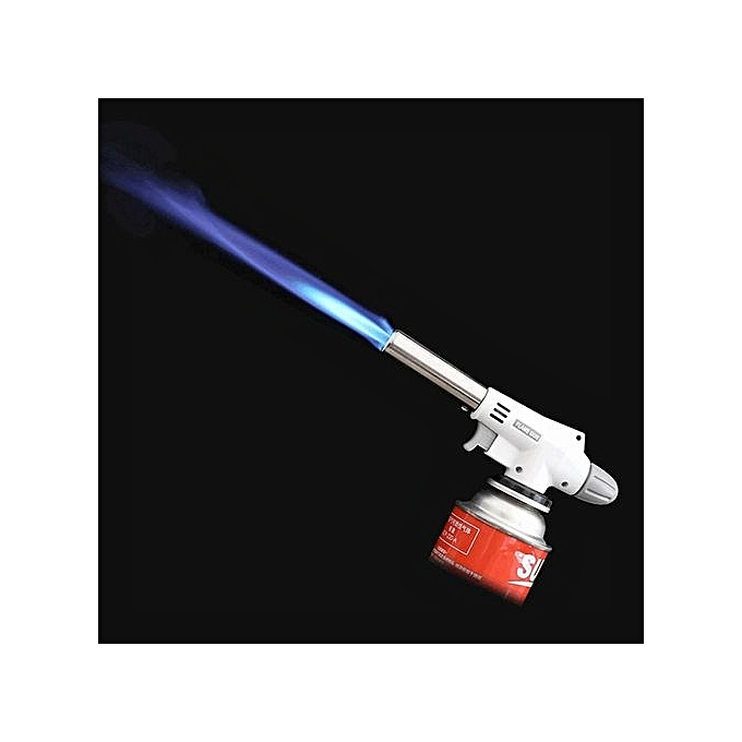 Geox Outdoor Camping Portable Flame Gun Butane Burners Torch Welding Fire Maker Lighter à prix pas cher