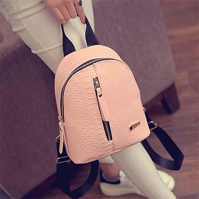 Other sac à dos Female femmes Anti Theft High Quality imperméable cuir sac à doss Schoolsacs voyage Shoulder sac Dropship M13(rose) à prix pas cher