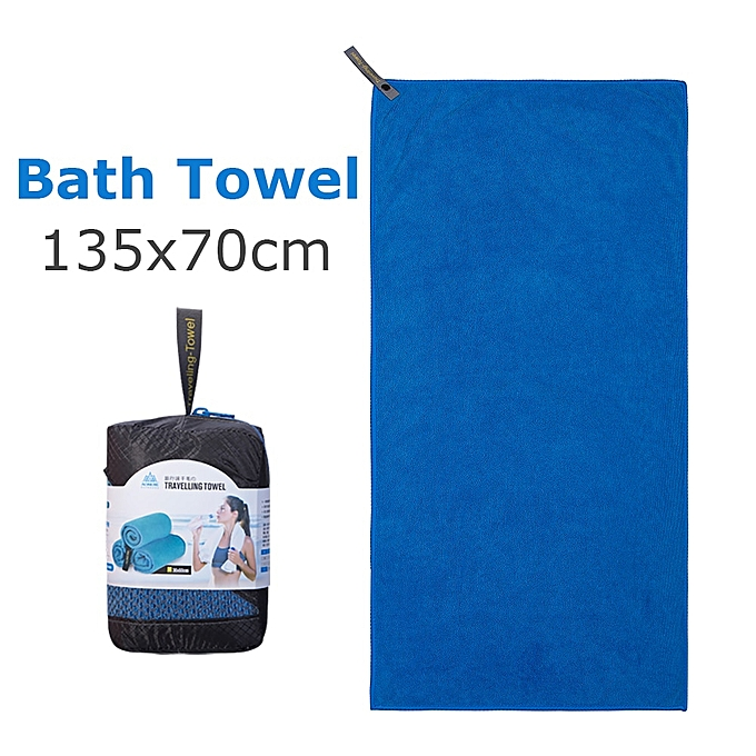 AONIJIE E4083 Microfiber Gym Bath Towel Travel Hand Face Towel Quick Drying For Fitness Workout Camping Hiking Yoga Beach(BathTowel Dark bleu) à prix pas cher