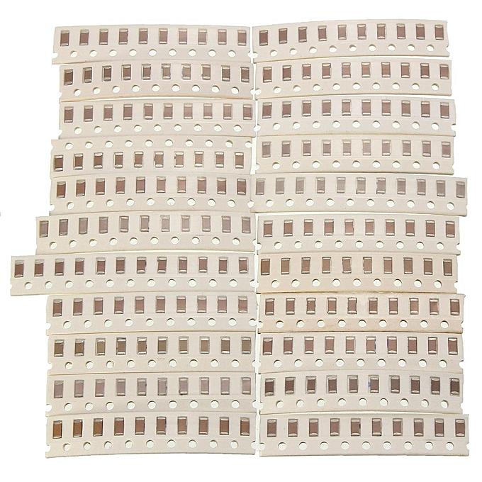 UNIVERSAL Details about 1150pcs SMD 1206 (0Ω-10MΩ)50value Resistor +(2.2pf-1uf)40value Capacitor Kit Set à prix pas cher