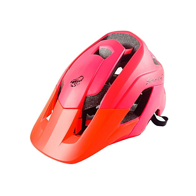 UNIVERSAL Outdoor Sports Mountainbiking Prougeective Helmet, Suitable Head Circumference  54 - 58 cm, Taille  M(rouge) à prix pas cher