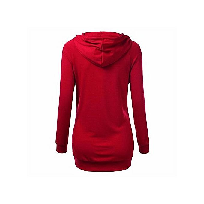 Eissely femmes manche longue Décontracté hauts  sweat à capuche Ladies voituredigan Outwear Coat veste à prix pas cher