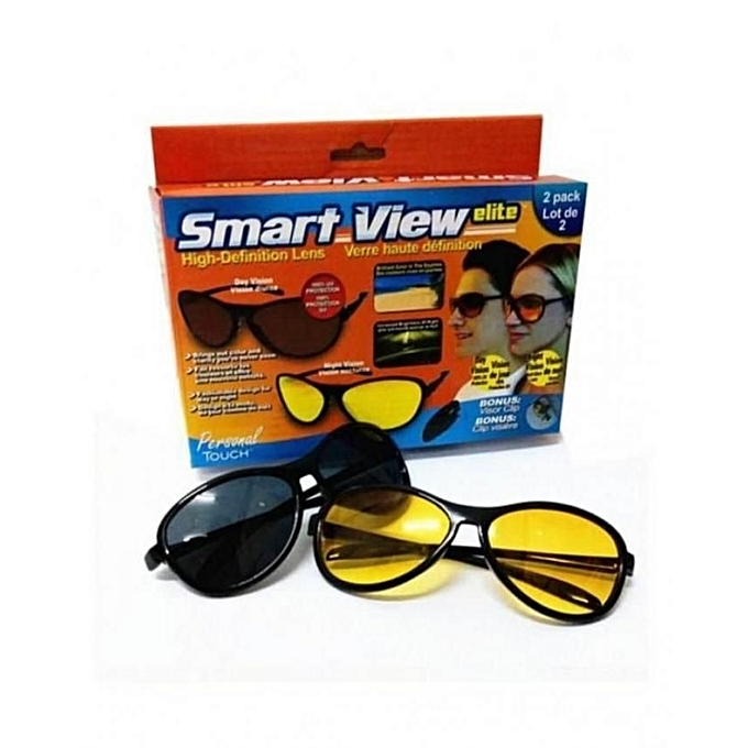 2 lunettes smart hd vision 1 lunettes de soleil des lunettes pour la nuit achat v hicules. Black Bedroom Furniture Sets. Home Design Ideas