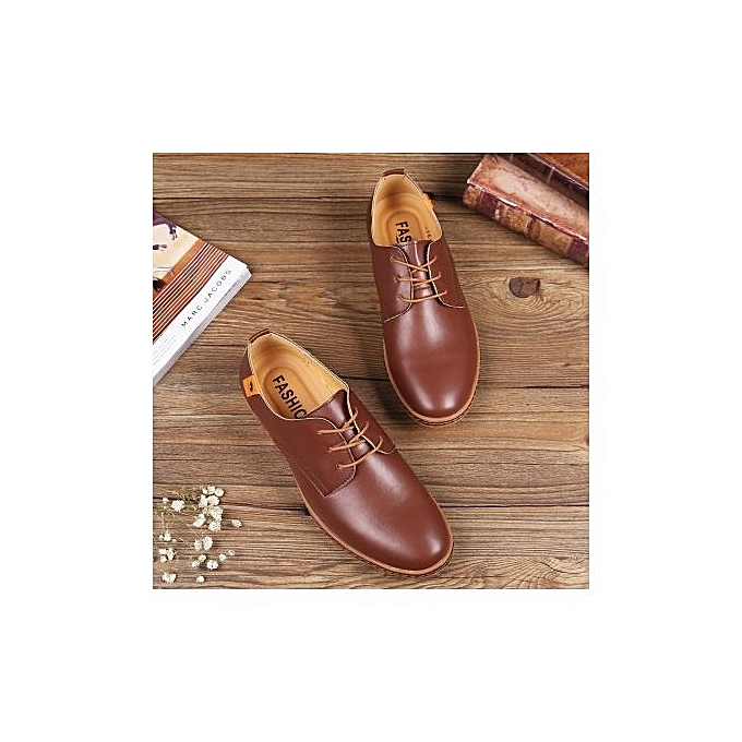 Fashion Best Large Selling  's Large Best Size Shoes With Casual Shoes Trend Shoes  -Marron  à prix pas cher  | Jumia Maroc 818d7c