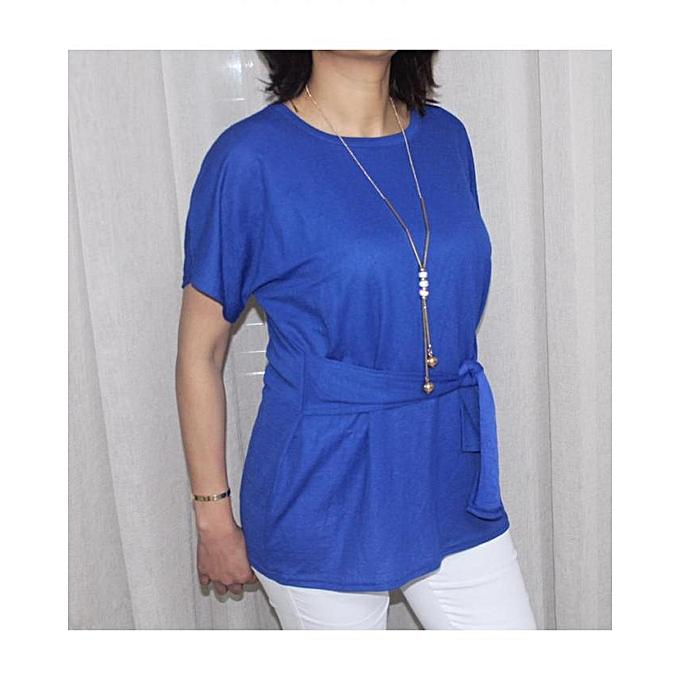 Generic Chemise pour femmes - bleu à prix pas cher