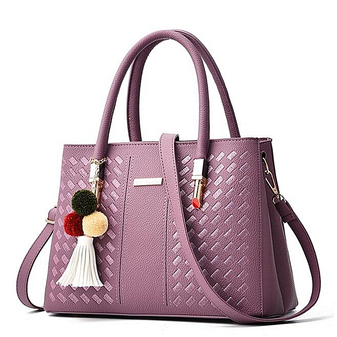 Fashion femmes Leather Handbag Shoulder Lady Cross Body Bag Tote Messenger Satchel Purse à prix pas cher