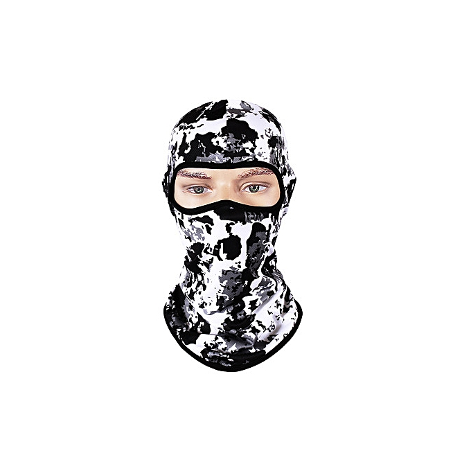 Autre POSSBAY Windproof Winter Motorcycle Face Mask Outdoor Man femme Face Neck Guard Masks Cycling Ski Face Winter Moto Balaclavas( Style 2) à prix pas cher