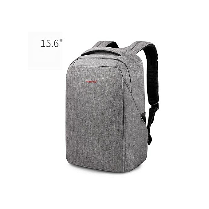 Generic Anti-thief 15.6 Laptop Backpack USB computer backpack for male bagpack  gris à prix pas cher