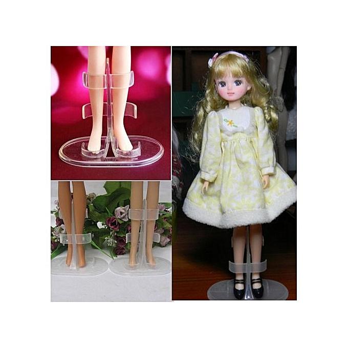 UNIVERSAL Porte-Mannequin Pour Poupée Barbie - Blanc à prix pas cher