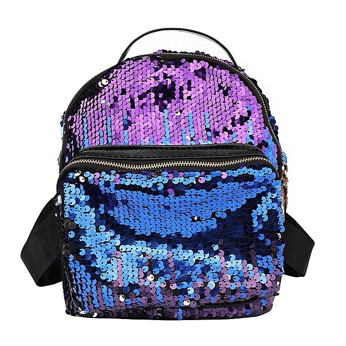 Fashion Singedan Shop femmes Bag Sequins Backpack Girls Small Travel Princess Bling Backpacks à prix pas cher