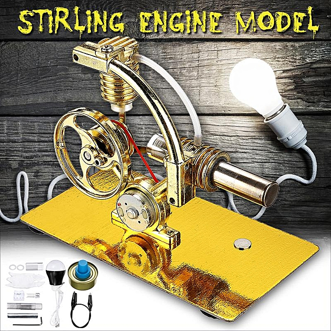 OEM The Old Tree Stirling Engine Motor Model Science Discovery Toy Educational Physics ExperiHommest nouveau à prix pas cher