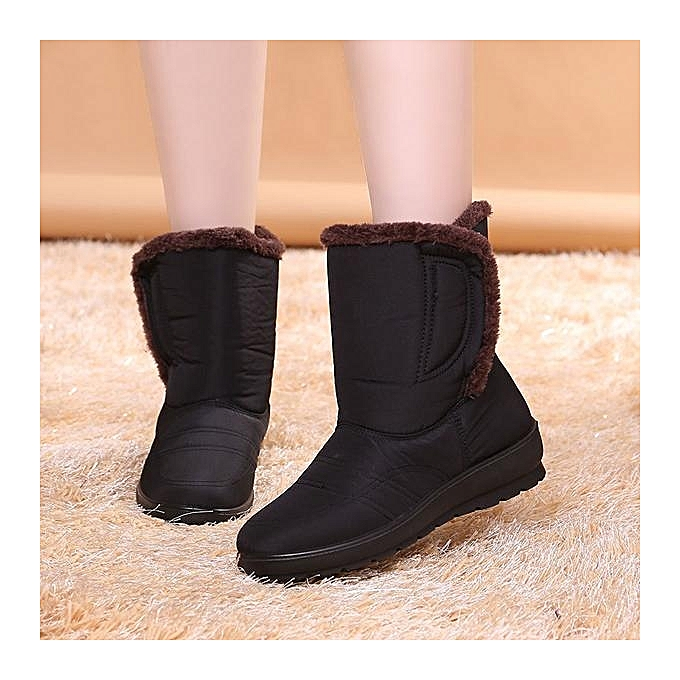Fashion Fashion Large Size Magic Stick Waterproof Mid- calf Warm Winter Snow Winter Warm Boots à prix pas cher    Jumia Maroc 42c9ec