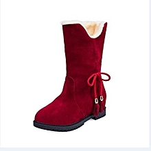 deed77dc30967d Snow Boots Winter Ankle Boots Women Shoes Heels Winter Boots Fashion Shoes  RD 35-