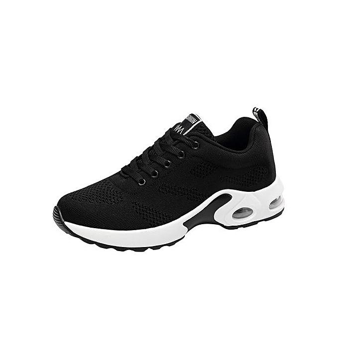 Fashion Hiamok Breathable chaussures Flying Woven Sports chaussures Casual Running chaussures Student Mesh chaussures à prix pas cher    Jumia Maroc