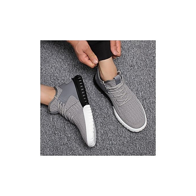 Fashion Summer New Trend High Topshommes chaussures Korean Version Of Casual Joker Running chaussures Men Fly Weave Breathable Fashionable baskets à prix pas cher