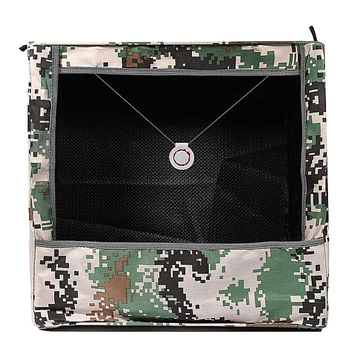 UNIVERSAL 40x40cm Slingshot Catapult PracticeTarget Box Recycle Ammo Portable Hunting Case à prix pas cher