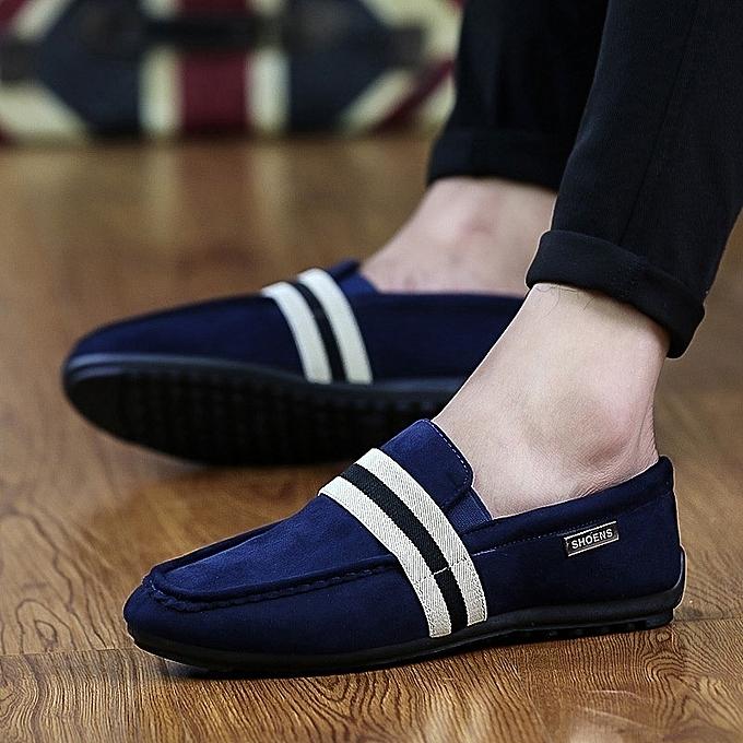 Other Stylish Korea Casual Loafers Men's Flat Doug chaussures à prix pas cher