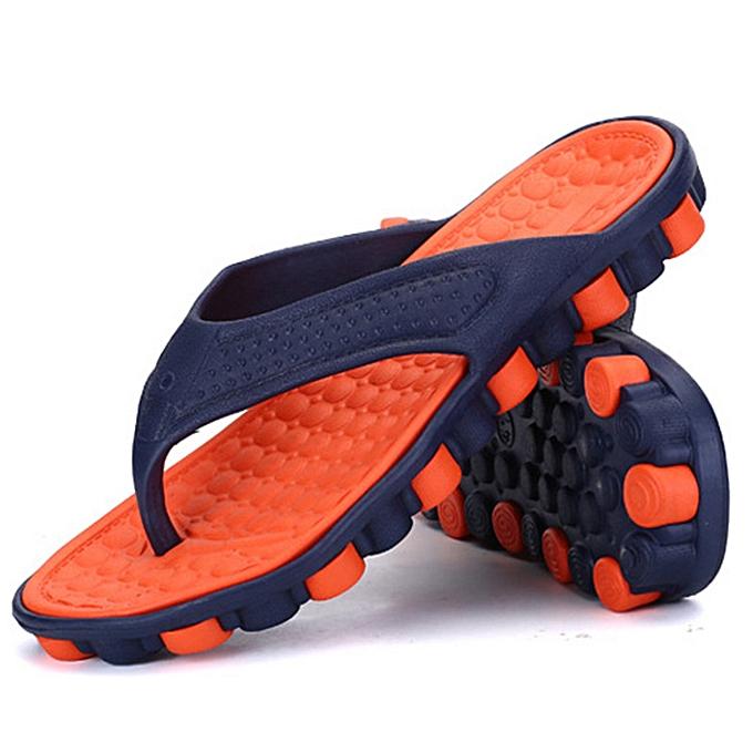 Fashion  Men's Sandals Beach chaussures Sport Flip Flops Slippers  à prix pas cher    Jumia Maroc