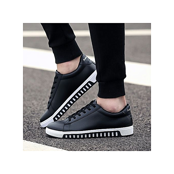Other Casual Anti-skid baskets Leather chaussures for Youth Men à prix pas cher